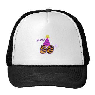 HAPPY FIFTIETH TRUCKER HAT