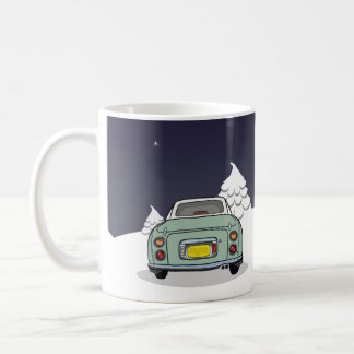 Happy Figmas - Green Nissan Figaro Mug