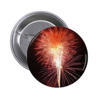 Happy Fireworks Day! 6 Cm Round Badge