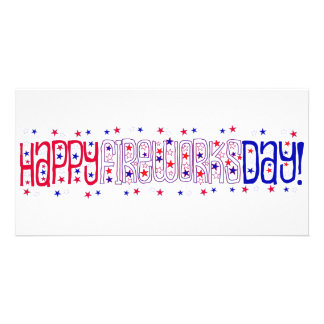 Happy Fireworks Day! Picture Card