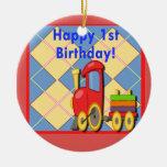 Happy First Birthday Choo Choo Train