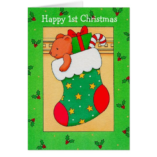 Happy First Christmas - Greeting Card