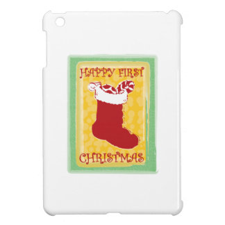 Happy First Christmas iPad Mini Cover