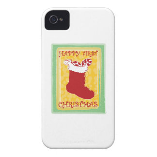 Happy First Christmas iPhone 4 Covers