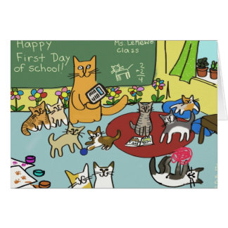 Happy First Day of School! Greeting Card