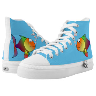 Happy fish high tops
