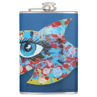 Happy Fish Hip Flask