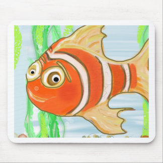 Happy Fish Mousepad
