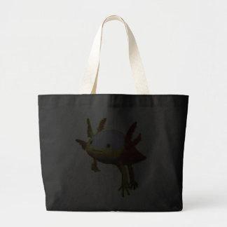 Happy fish canvas bag