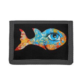 Happy Fish Tri-fold Wallet