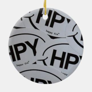 Happy Fix Christmas Ornament