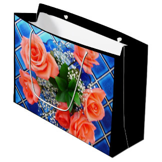 Happy Floral Design Gift Bag