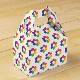 Happy Flower Favour Box