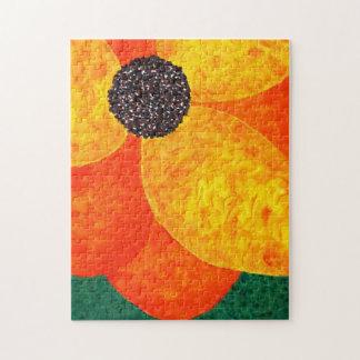 Happy Flower Jigsaw Puzzle