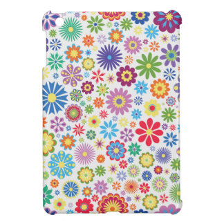 Happy flower power case for the iPad mini