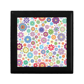 Happy flower power gift box