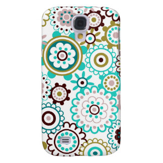 Happy Flowers 3 Galaxy S4 Case
