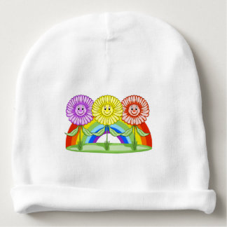 Happy Flowers Baby Winter Hat Baby Beanie