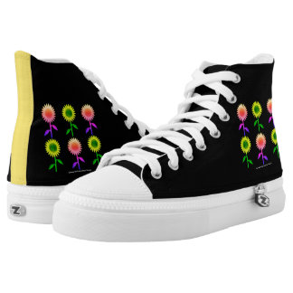 Happy Flowers High Tops