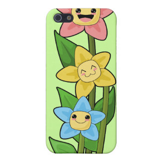 Happy Flowers iPhone 5 Cover