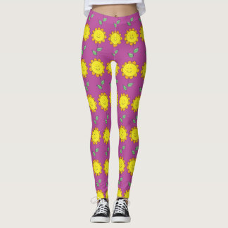 Happy Flowers Leggings