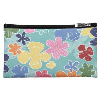 Happy Flowers Medium Cosmetic Bag