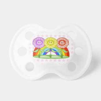 Happy Flowers Pacifier