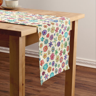 Happy Flowers table runner