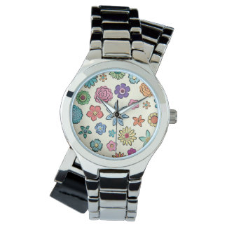 Happy Flowers watch