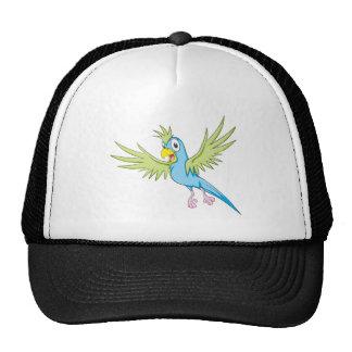 Happy Flying Parrot Trucker Hats