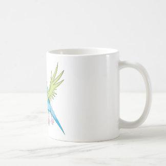 Happy Flying Parrot Mug
