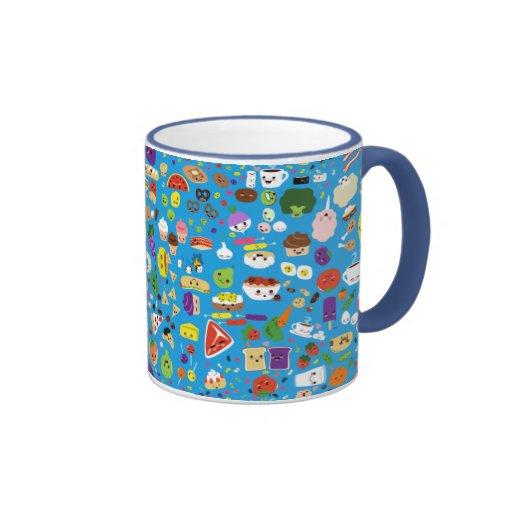 Happy Food Ringer Coffee Mug
