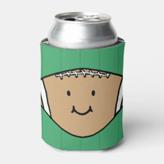 Happy Football Can Cooler