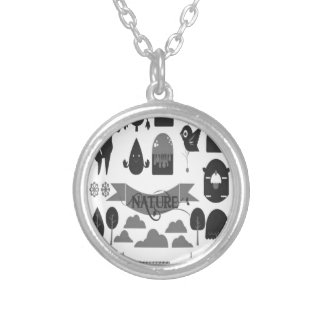Happy forest vector design jewelry