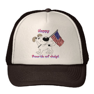 Happy Fourth of July! Trucker Hats