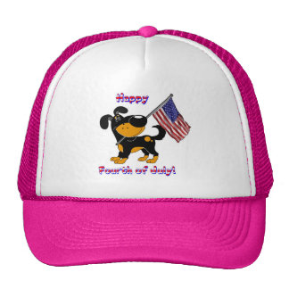 Happy Fourth of July! Mesh Hat