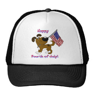 Happy Fourth of July! Mesh Hats