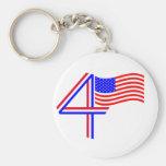 Happy Fourth of July! Keychains