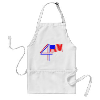 Happy Fourth of July! Standard Apron