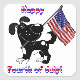 Happy Fourth of July! Stickers