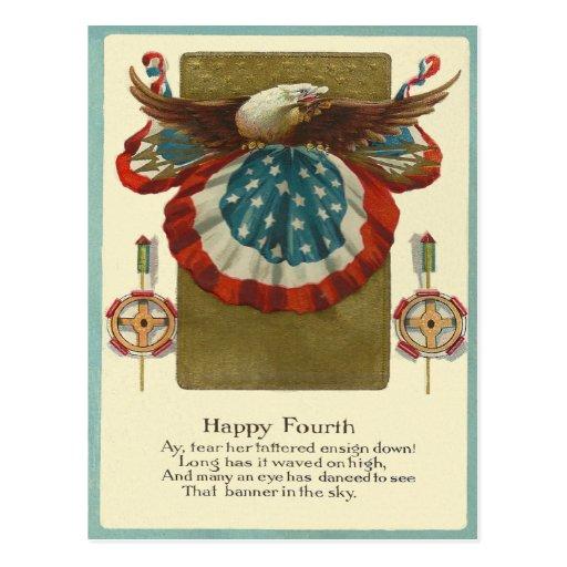Happy Fourth Post Card
