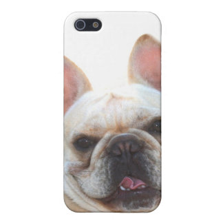 Happy French Bulldog for 4/4s iPhone 5 Covers