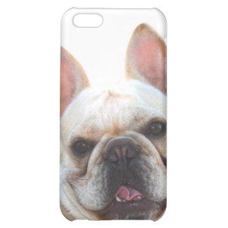 Happy French Bulldog for 4/4s Cover For iPhone 5C