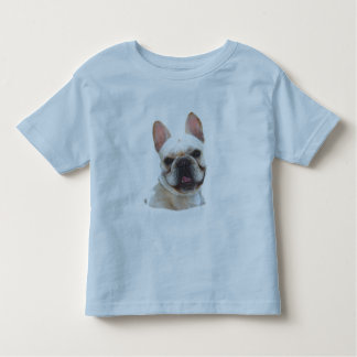 Happy french bulldog kids shirt
