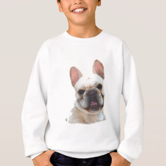 Happy French Bulldog kids sweatshirt