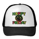 happy friday-1 copy mesh hat