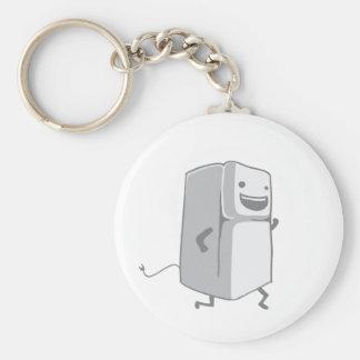 Happy Fridge Basic Round Button Key Ring