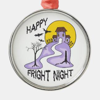 HAPPY FRIGHT NIGHT ORNAMENTS