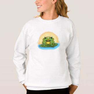 Happy Frog Girl's Sweatshirt
