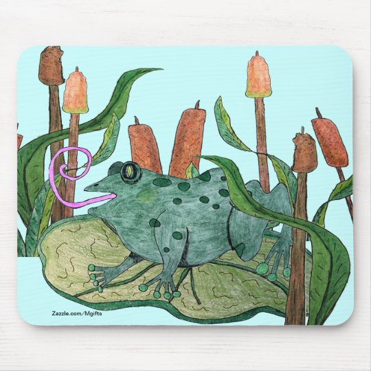 Happy Frog Mouse Pad